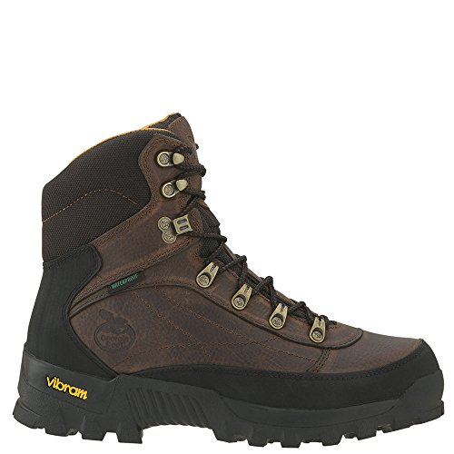 Georgia Crossridge Waterproof Hiker Work Boot - Dark Brown, Size 11 1/2, Model# G6513