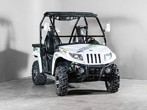 Arctic Cat Prowler (2011-14) Full-Tilt Windshield-Best of both worlds. Half when you want and full when you need. Made in ()