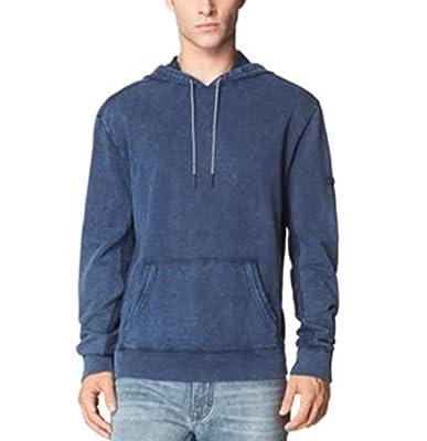 Calvin Klein Jeans Indigo Hoodie Vanish Blue, Large