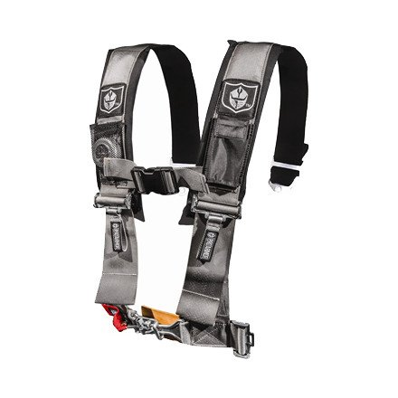 Pro Armor A114220SV Silver 4-Point Harness