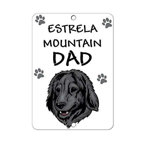estrela-mountain-dog-dad-metal-sign-8-in-x-12-in