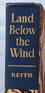 Hardcover Land Below The Wind Book