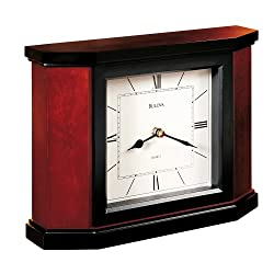 Bulova Morrigon 10 Wide Mantel Clock