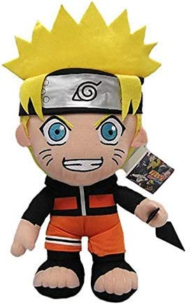 feilongzaitian Peluche De 30 Cm Anime Naruto Uzumaki Naruto Muñeca De Peluche De Juguete Uzumaki Naruto Cosplay Disfraz De Peluche De Peluche De Regalo para Niños Niños