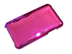 """""""Gleam"""" Rosado Oscuro, Cubierta de plástico duro & """"Desire"""" Verde, Funda de tacto suave - para iPhone 3G/3Gs. Paquete único de Cubierta / Estuche / Carcasa / Funda para iPhone 3G/3Gs & Auténtico estuche de tacto suave para iPhone 3G/3Gs."""