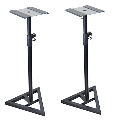 Pair of Ignite Pro Heavy Duty Near-Field Studio Monitor Speaker Stands Adjustable Height by Ignite Pro (Image #5)