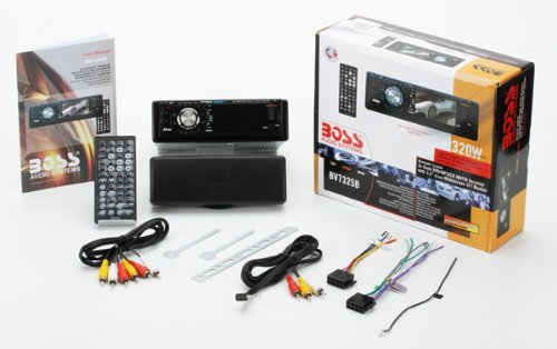 41zpqt0zVSL amazon com boss audio bv7325b in dash single din 3 2 inch boss bv7320 wiring diagram at crackthecode.co