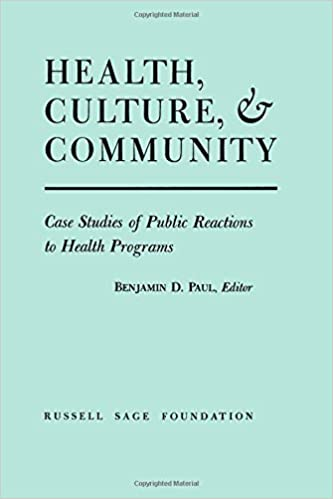 Book Health, Culture, and Community (1955-12-31)