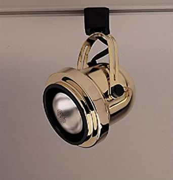 Bell-I 1 Light Track Light Finish: Polished Brass