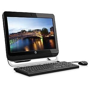 HP Omni 120-1102es - Ordenador de sobremesa de 20 pulgadas (4 GB de RAM, 3.3 GHz, Core_i3_2120, Windows 7 Home Premium, 1 TB de disco duro), color negro