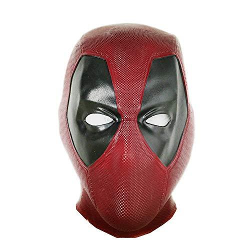 Xcoser dead 마스크 코스프레 풀 슈퍼 히어로 영화풍 가면 할로 운 이벤트 파티 스파이더 변장 맨 가면 고무 가면 Mask