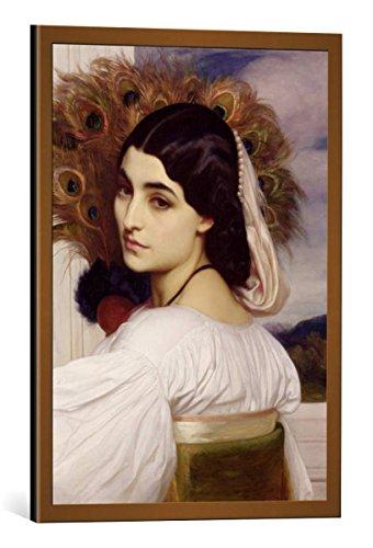 kunst für alle Framed Art Print: Lord Frederick Leighton Pavonia 1859