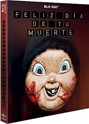 Feliz día de tu muerte Oring Halloween 2019 BD Blu-ray: Amazon.es: Jessica Rothe, Israel Broussard, Ruby Modine, Christopher Landon, Jessica Rothe, Israel Broussard, Universal Pictures, Blumhouse Productions: Cine y Series TV