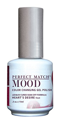 LECHAT Perfect Match Mood Gel Polish, Heart's Desire, 0.500 Ounce