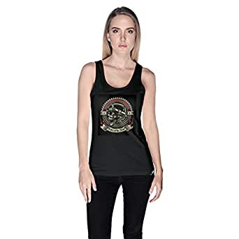 Creo Pirates Of The Desert Bikers Tank Top For Women - S, Black