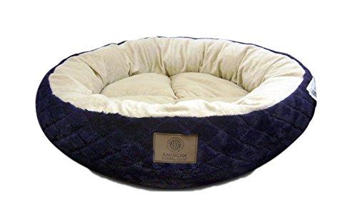 Dog Round Bed (American Kennel Club AKC3197NAVY 28