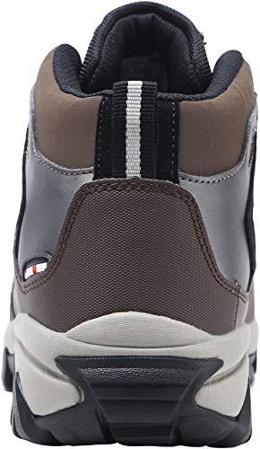 Marrón Acero Tapa S3 Suela De Src Seguridad Zapato Con lm Antiestático Caucho Antideslizante 1702 wSqnO80