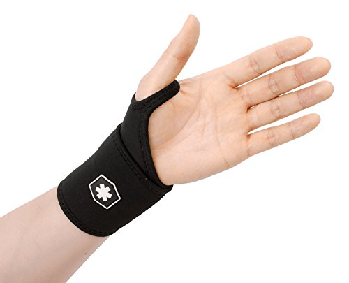 Price comparison product image Wrist Support Wrap for Carpel Tunnel Syndrome,  Sprained Wrist,  and Keyboard / Typing Support by ICEWRAPS Fitness IWF8832