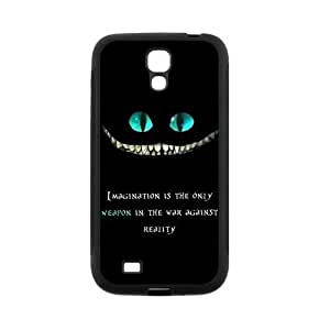 LeonardCustom Durable Protective TPU Rubber Fitted Cover Case for Samsung Galaxy S4 SIV - Cheshire Cat