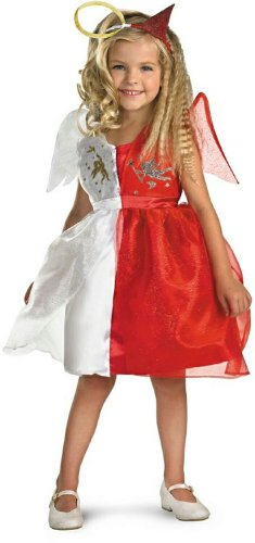 Devilish Angel Child Costume, Size (4-6X)
