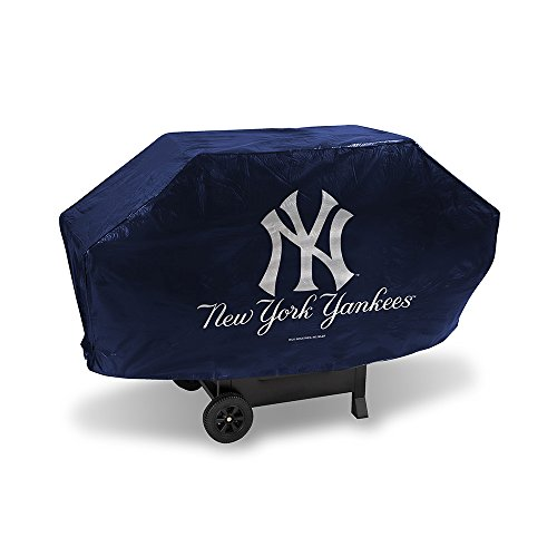 (Rico Industries Inc Baseball Pride Deluxe Grill Cover MLB Team: New York Yankees)