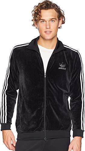 - adidas Originals Men's Velour BB Track Top Black Large