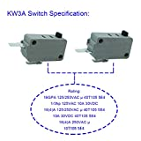 LONYE KW3A Microwave Oven Door Switch Fit for