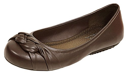 spicy-womens-woven-braided-knot-bow-round-closed-toe-ballet-flat-55-bm-us-brown