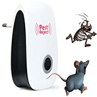 Generic B Australian Electronic Ultrasonic Pest Mouse Repellent Anti Mosquito Repeller Killer Machine Reject Insect Rodent Control EU/US Plug