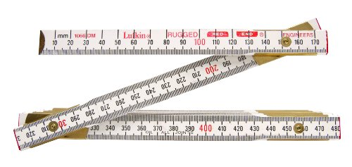 Lufkin 1066DM 8 Inch Engineer Feet Scale