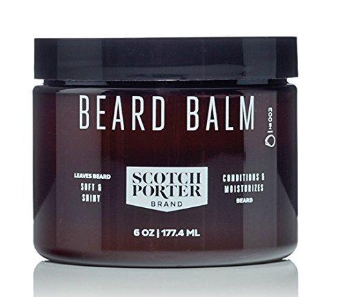 Scotch Porter – All Natural Men's Beard Balm – 6 oz.