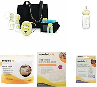 Medela Freestyle Double Electric Breast Pump With Bonus Bundle