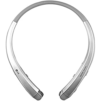 LG HBS-910 Tone Infinim Bluetooth Stereo Headset (Certified Refurbished) (Silver)