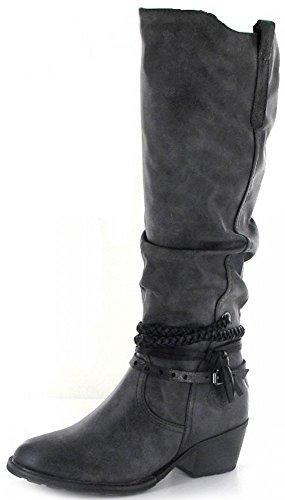 Marco Tozzi2-2-25507-27-229 - botas clásicas Mujer gris