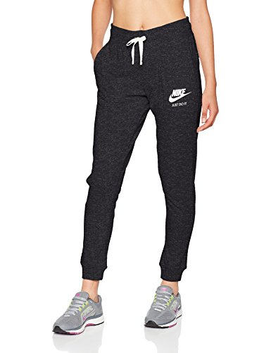 Womens Vintage Fleece Pants - Nike Women's Sportswear Vintage Pants Black/Sail Size Small