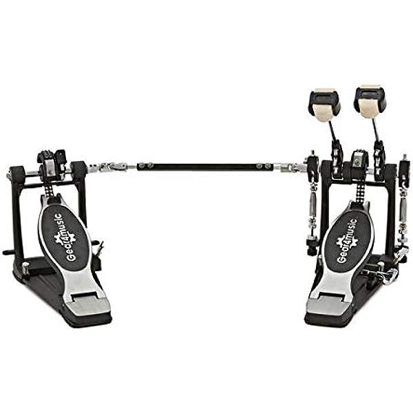 Doble Pedal de Bombo con Base: Amazon.es: Instrumentos musicales