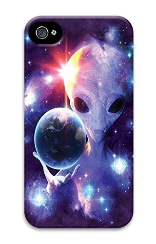 Alien Origins Polycarbonate Hard Case Cover for iPhone 4/4S