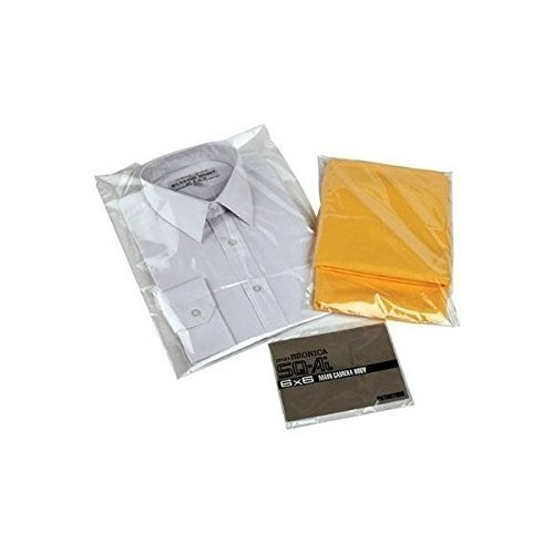 Cello ART BAGS Clear DISPLAY Clothes Bags Bags Garment Cellophane BAGS 50 Bags BAGS RESEALABLE 14 x CELLO 17