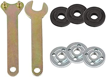 1* Spanner Wrench+2* Angle Grinder Flange Nut For Milwaukee /&Decker