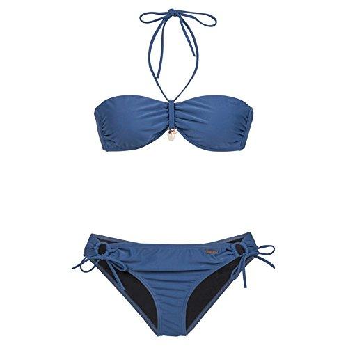 Protest Mujer Bikini Azul - azul oscuro