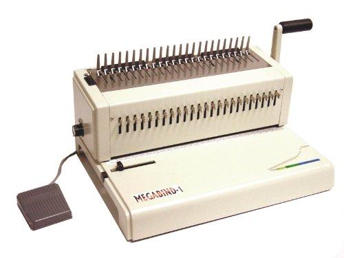 Electric Punch Plastic Comb Binding - Akiles MegaBind-1E 14