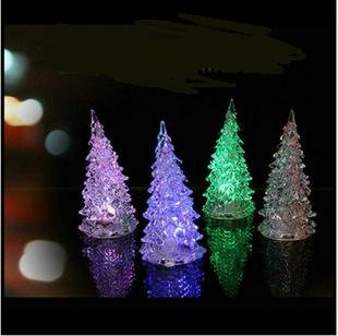 Domire Color Changing Christmas Decoration Night Light Tree
