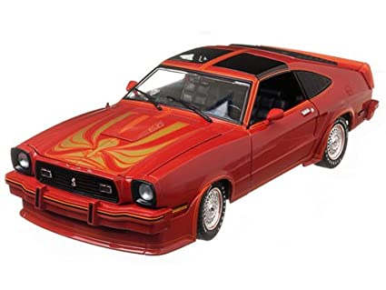 Amazon 1978 Ford Mustang Ii King Cobra Red Black With T Tops