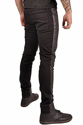 863ba883 60%OFF Tripp Men's Split Vegie Faux Leather Gothic Skinny Jeans ...