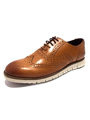 London Brogues  Gatz,  Herren SchnürHalbschuhe Tan w/ Cream Sole