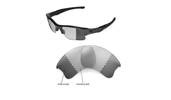 44bfcf816e Walleva Kit de Lentes de reemplazo o Lentes/de Goma para Oakley Flak Jacket  XLJ (Sol - 48 Opciones: Amazon.es: Deportes y aire libre