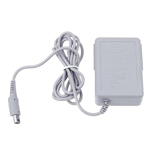 (Livoty Intelligent Charger, Travel AC Wall Home Charger Power Adapter Cord for Nintendo 2DS XL 3DS NDSi DSi (White))