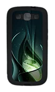 3D Green Consciousness And Beautiful Abstract Custom Design Samsung Galaxy S3 Case Cover - TPU - Black by heywan