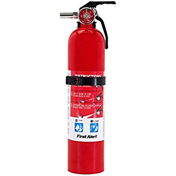 First Alert Fire Extinguisher Garage Fire Extinguisher Red Garage10 Fe10gr