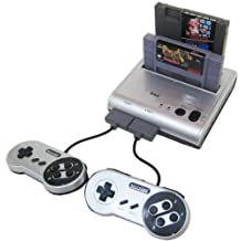 Retro-Bit Retro Duo Twin Video Game System, Silver/Black